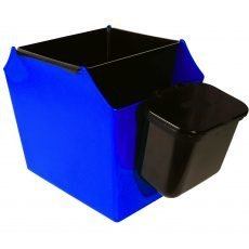 Multi-purpose recycling bins